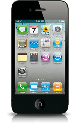 Apple iPhone 4 voorkant