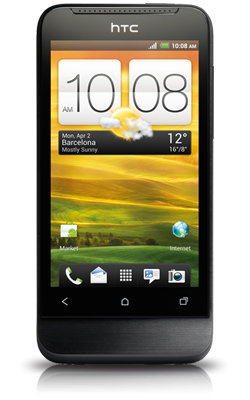 HTC One V voorkant