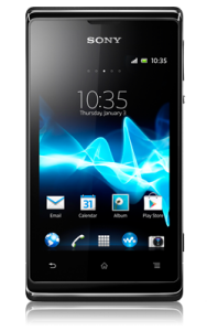 Sony Xperia E voorkant
