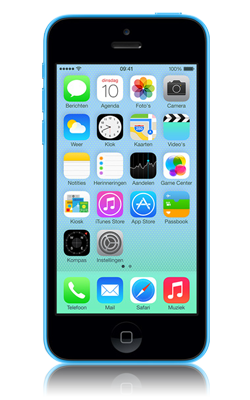 Apple iPhone 5C voorkant