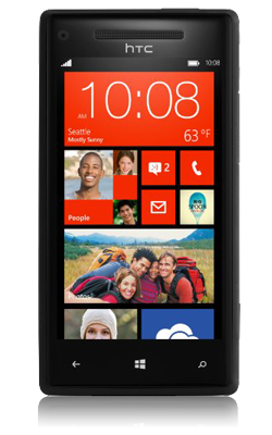 HTC Windows Phone 8X voorkant