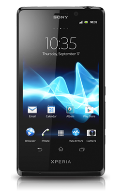Sony Xperia T voorkant