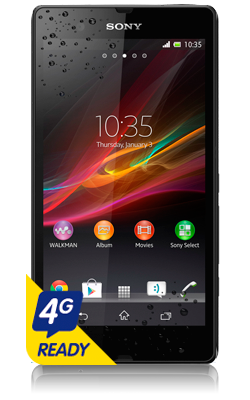 Sony Xperia Z voorkant