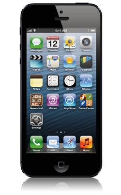 Apple iPhone 5 voorkant